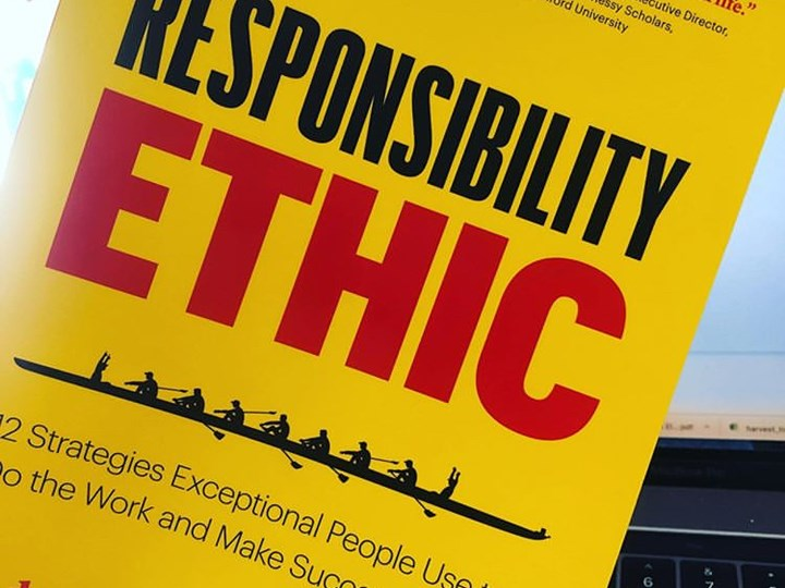 The Responsibility Ethic book launch on October 2