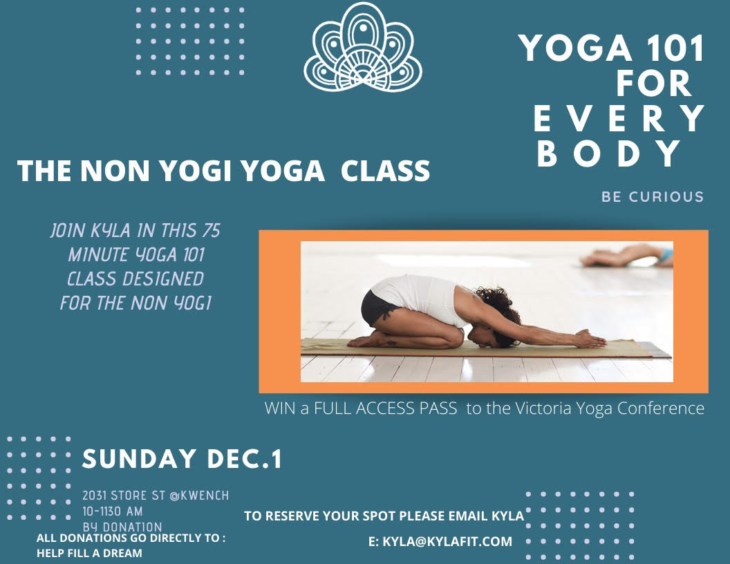 Yoga for Non-yogis with Kyla